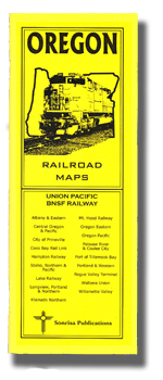 Oregon Railroad Maps